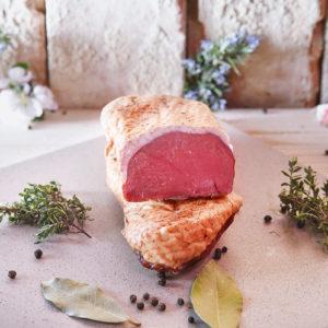 Rindfleisch, Lamm und Ente